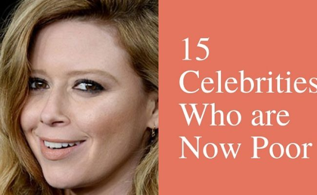 Socking Facts: 15 Celebrities Who are Now Poor