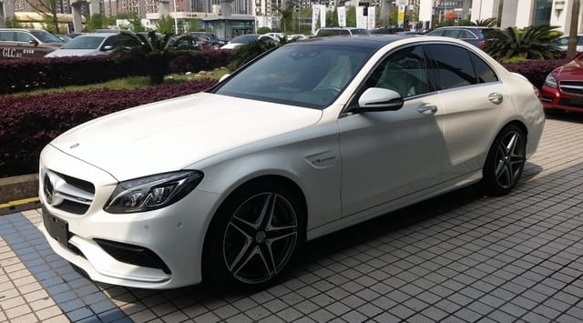 Mercedes AMG C63 Saloon - Top Family Car