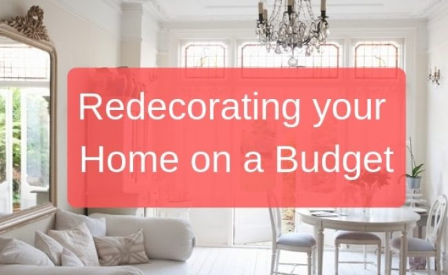 Redecorating your Home on a Budget
