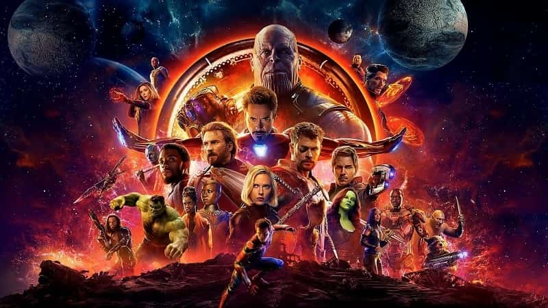 Avengers Infinity War (2018) - best avengers movies