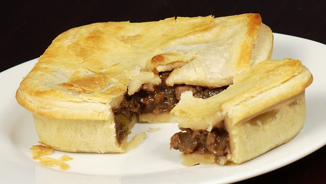 Meat Pie - most popular food in the world