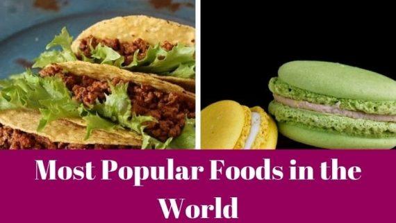 Most Popular Foods