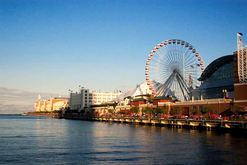 Navy Pier in Chicago - Best Tourist Attractions in America